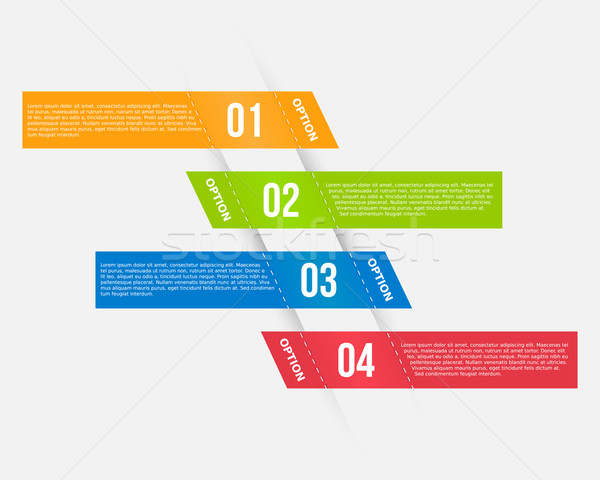 Infográficos modelo banners colorido negócio internet Foto stock © simo988
