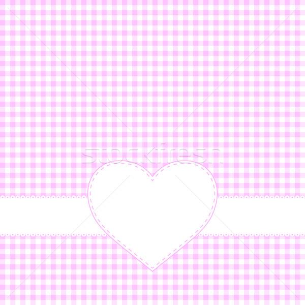 Valentijnsdag gelukkig abstract hart Stockfoto © simo988