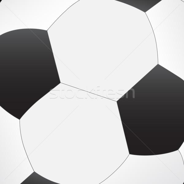 Futballabda textúra sport terv művészet jókedv Stock fotó © simo988