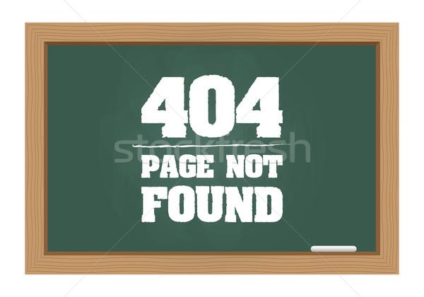 404 エラー メッセージ 黒板 インターネット ストックフォト © simo988