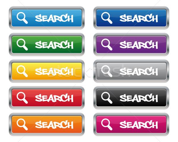 検索 メタリック 長方形の ボタン 色 ストックフォト © simo988