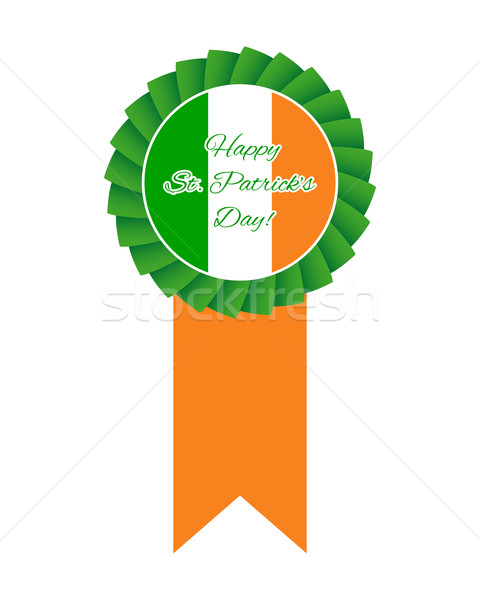 St Patrick's day rosette Stock photo © simo988