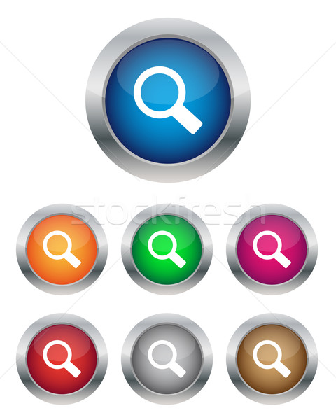 Stock photo: Search buttons
