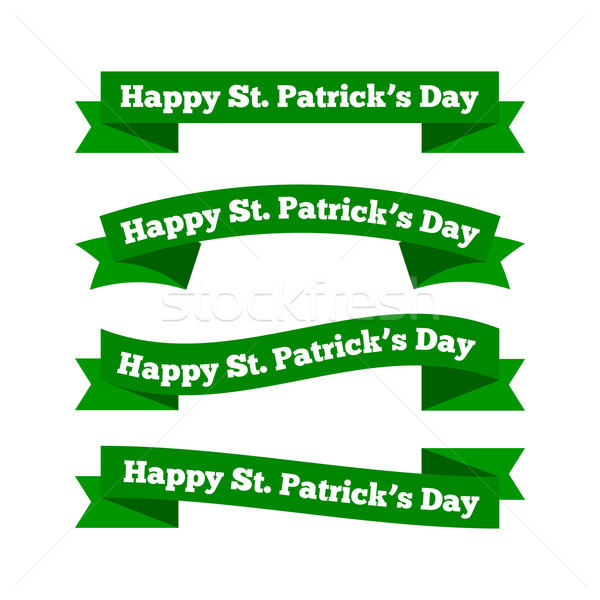St patrick's day ribbons Stock photo © simo988