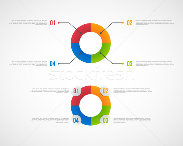 Infographics elements Stock photo © simo988