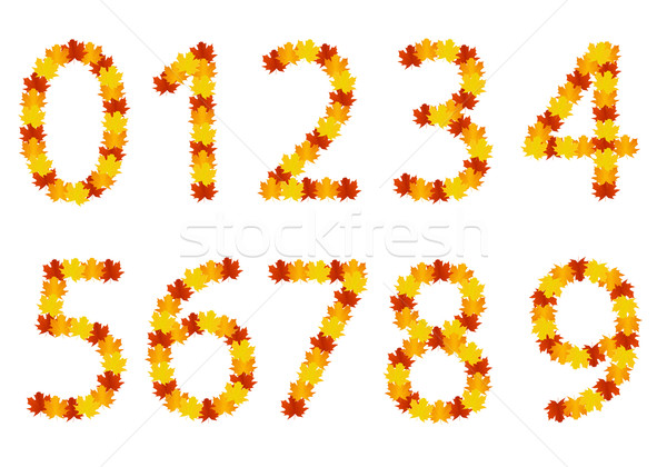 紅葉 番号 テクスチャ 自然 葉 ウェブ ストックフォト © simo988
