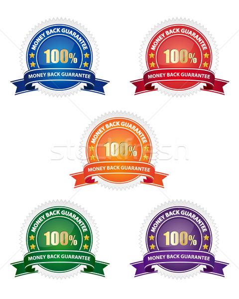 Pénz hát garancia fóka gyűjtemény különböző Stock fotó © simo988