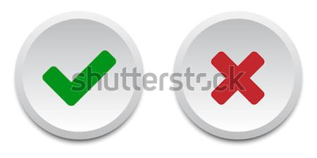 Validation buttons Stock photo © simo988