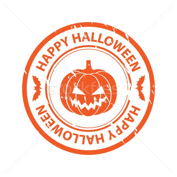 Halloween zucca felice design sfondo Foto d'archivio © simo988