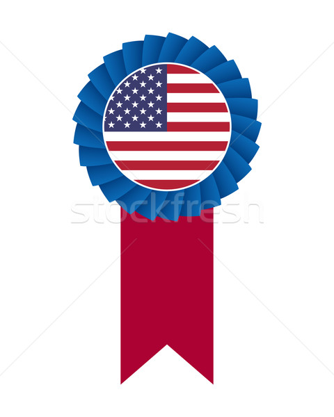 4th of July rosette Stock photo © simo988
