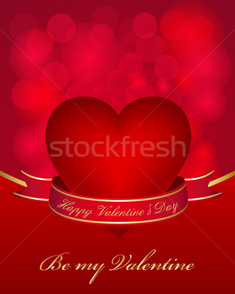 Valentine's day card Stock photo © simo988