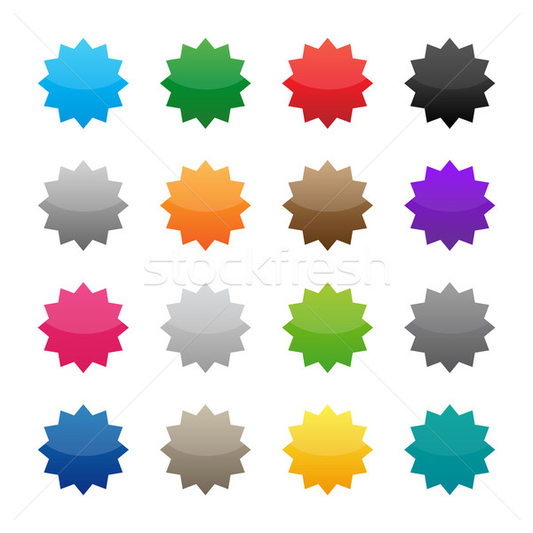 Colorato colori business abstract Foto d'archivio © simo988