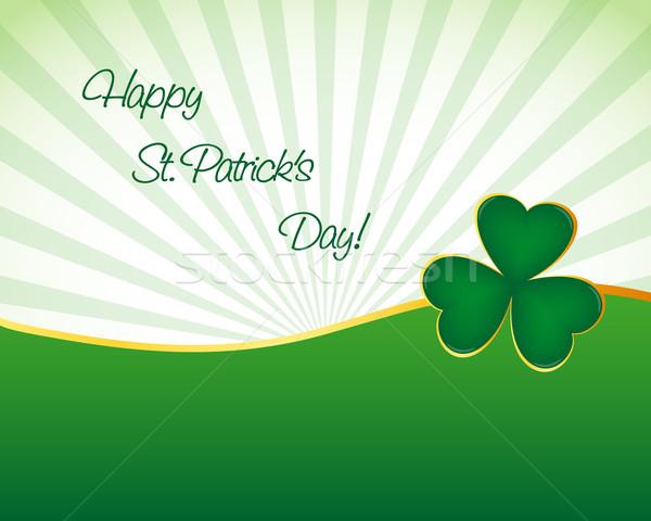 St. Patrick's day wallpaper Stock photo © simo988