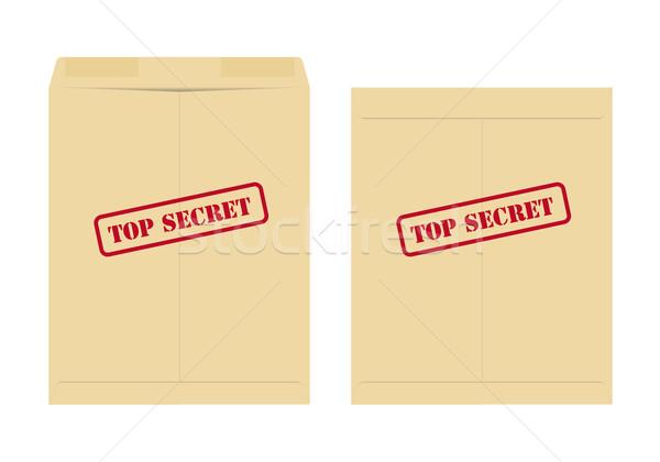 Top segreto busta due uno open Foto d'archivio © simo988