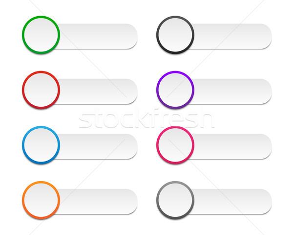 Stok fotoğraf: Renkli · etiketler · ayarlamak · renkler