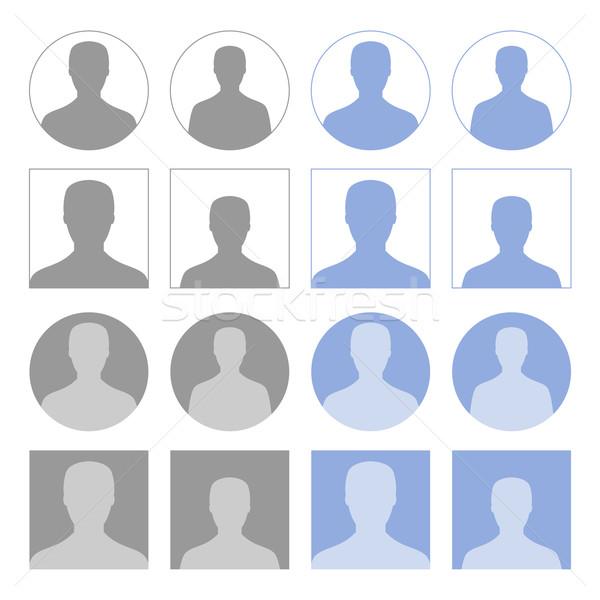 Profile icons Stock photo © simo988