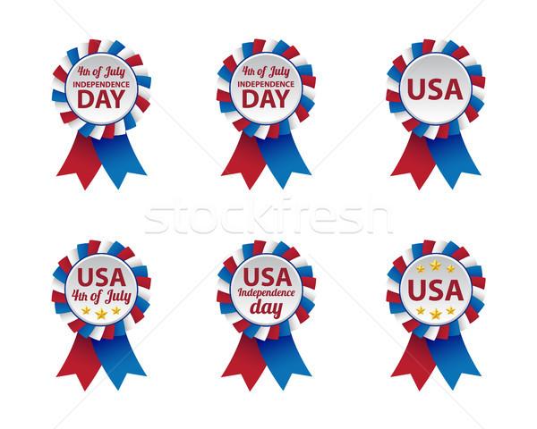 Dia coleção estrela cor liberdade Foto stock © simo988