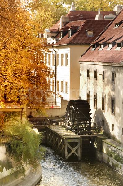 Old Water Mill Stock photo © SimpleFoto