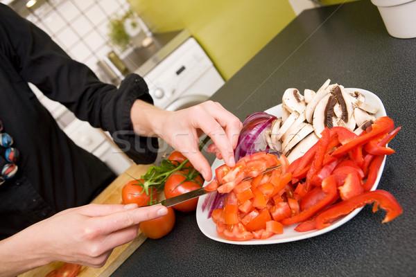 Vegetable Platter Stock photo © SimpleFoto