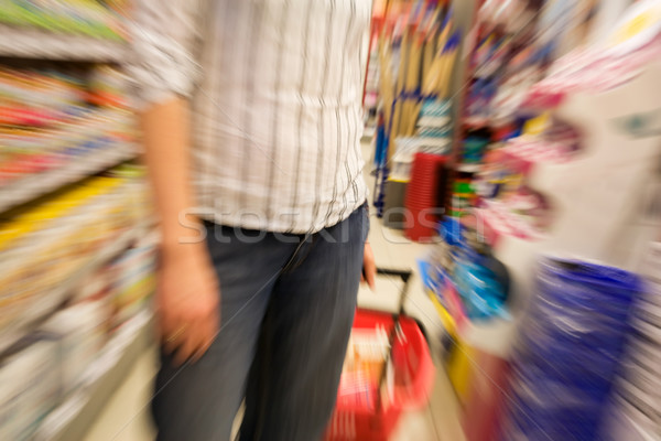 speed shopping Stock photo © SimpleFoto