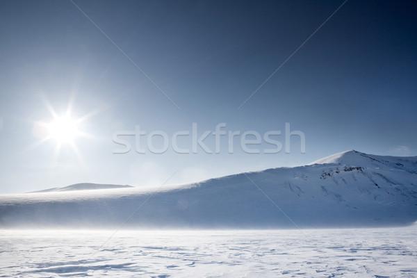 Winter Mountain Landscape Stock photo © SimpleFoto