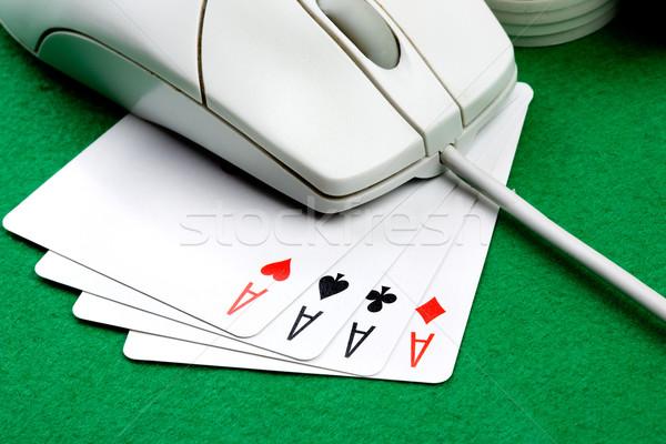 Online Gambling Concept Stock photo © SimpleFoto