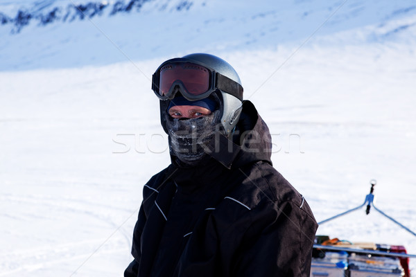 Winter Adventure Guide Stock photo © SimpleFoto
