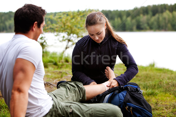 Camping First Aid Stock photo © SimpleFoto