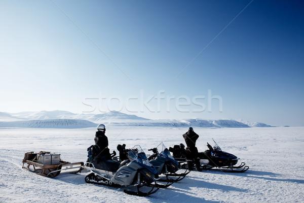 極地の 遠征 冬 風景 凍結 氷 ストックフォト © SimpleFoto