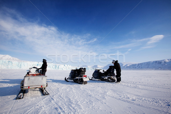 Glacier Expedition Stock photo © SimpleFoto