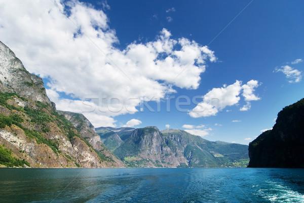 Norway Fjord Scenic Stock photo © SimpleFoto