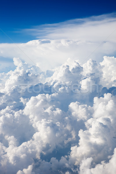 Cloudscape from Above Stock photo © SimpleFoto