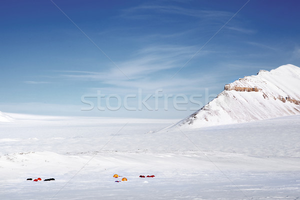 Winter Wilderness Expedition Stock photo © SimpleFoto