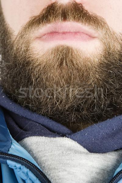Beard Close Up Stock photo © SimpleFoto