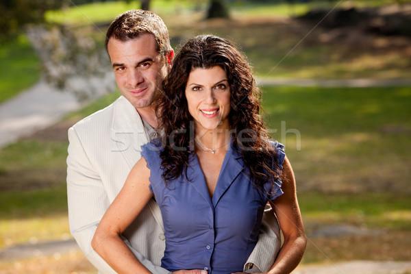 Married Couple Portrait Stock photo © SimpleFoto