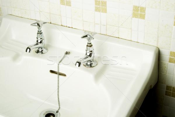 Retro Sink Stock photo © SimpleFoto
