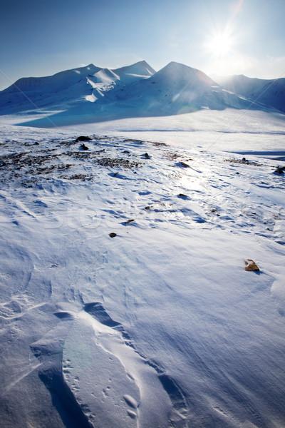 Svalbard Landscape Stock photo © SimpleFoto