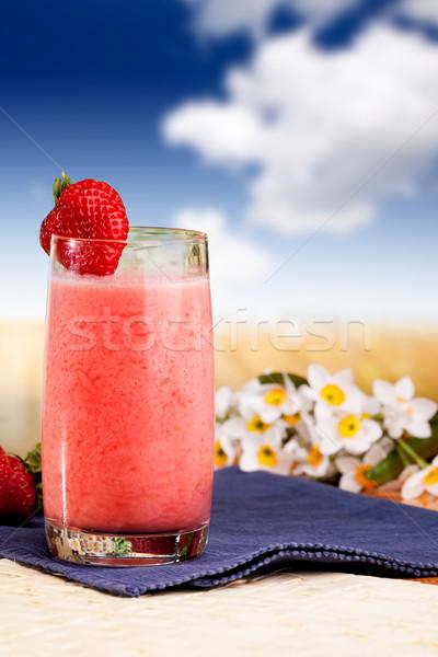 Strawberry Smoothie Stock photo © SimpleFoto