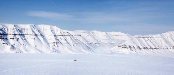 Svalbard Panorama Stock photo © SimpleFoto