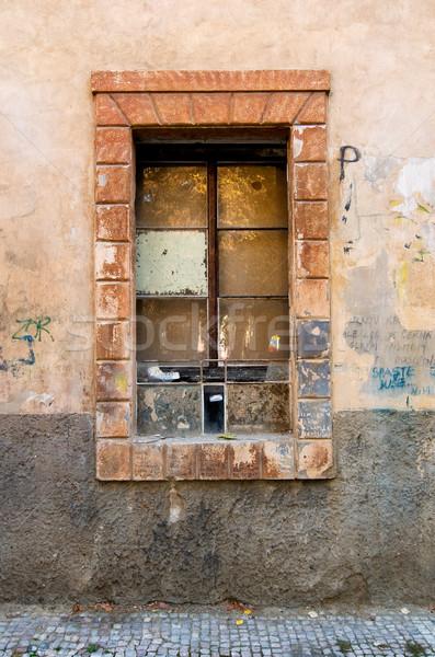Grunge Window Detail Stock photo © SimpleFoto
