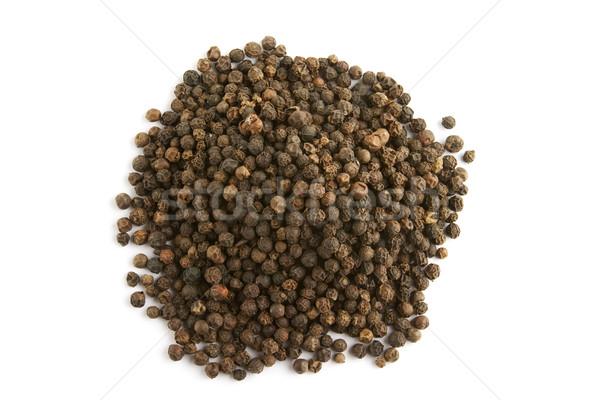 Bulk Black Pepper Stock photo © SimpleFoto