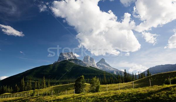 Montana paisaje Canadá hermosa grande Foto stock © SimpleFoto