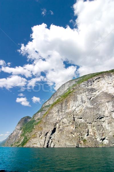 Noruega escénico naturaleza paisaje lluvia Foto stock © SimpleFoto