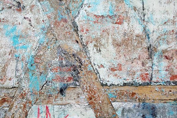 Old Paint Texture Stock photo © SimpleFoto