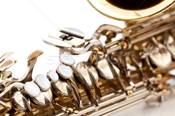Saxaphone Detail Stock photo © SimpleFoto