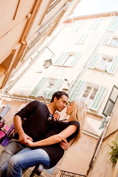 European Couple Stock photo © SimpleFoto
