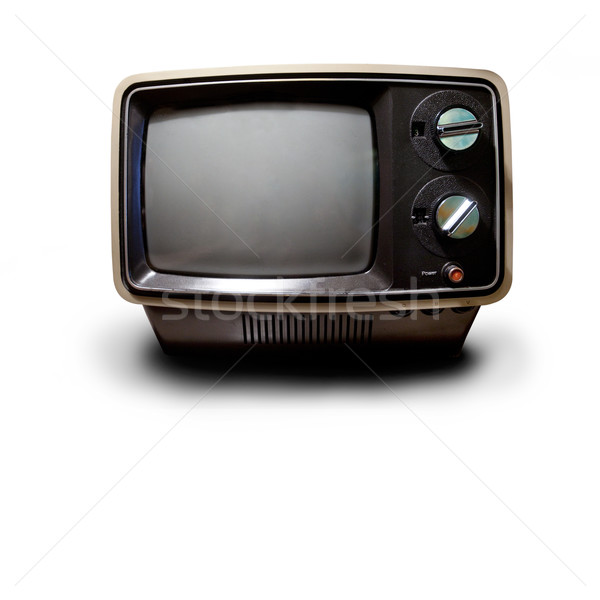 Retro TV Stock photo © SimpleFoto