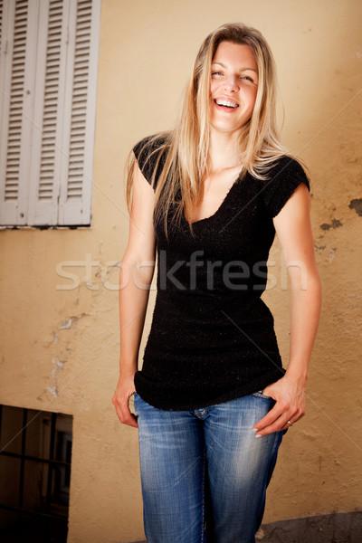 Beautiful Casual Woman  Stock photo © SimpleFoto
