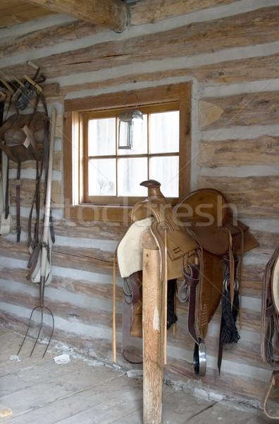 Nie opis domu moda okno architektury Zdjęcia stock © SimpleFoto