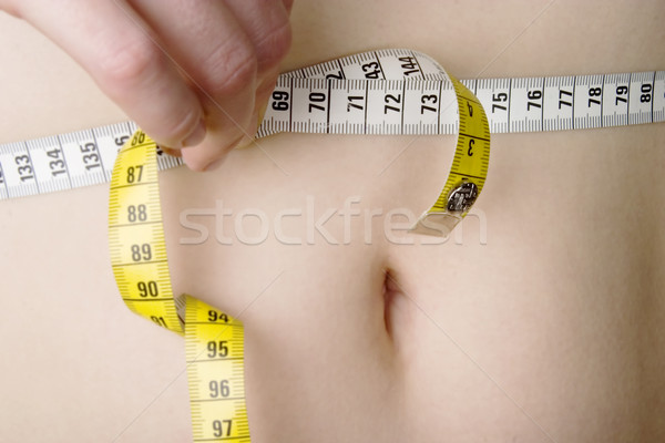Waist Measure Stock photo © SimpleFoto